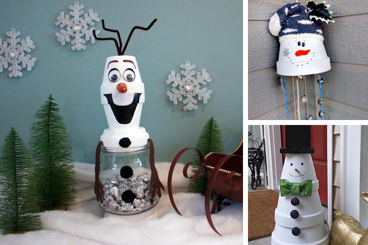 15 Creative Snowmen Crafts Ideas To Make With Kids