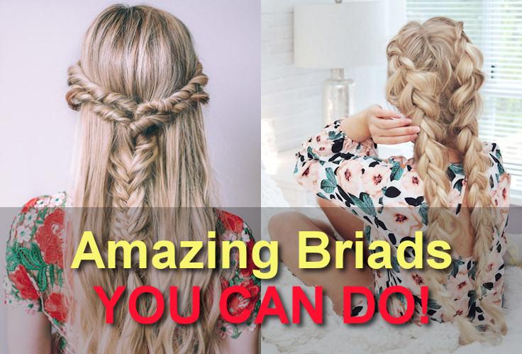 Step by Step Hair Braids Tutorials That Anyone Can Do