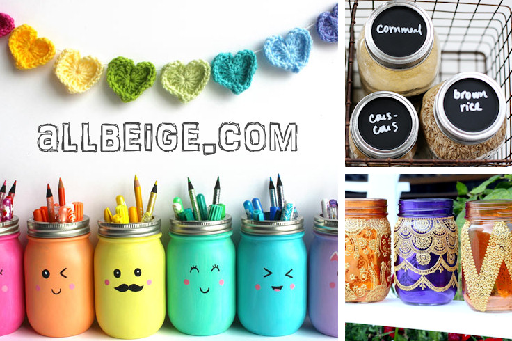 Brilliant Ways to Organize Your Home with Mason Jar Crafts